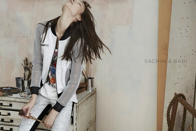 CAMPAIGN Yumi Lambert for Sachin & Babi Spring 2015 by An Le. Leith Speer Barton, www.imageamplified.com, Image Amplified (2)