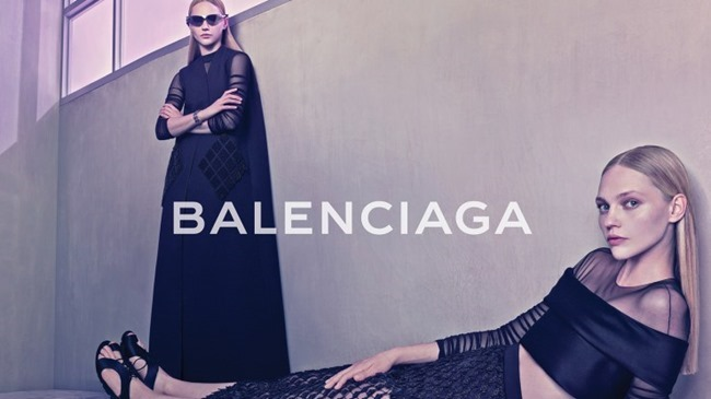 CAMPAIGN Sasha Pivovarova for Balenciaga Spring 2015 by Steven Klein. Panos Yiapanis, www.imageamplified.com, Image Amplified (7)