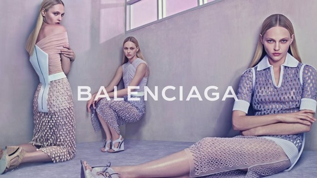 CAMPAIGN Sasha Pivovarova for Balenciaga Spring 2015 by Steven Klein. Panos Yiapanis, www.imageamplified.com, Image Amplified (8)