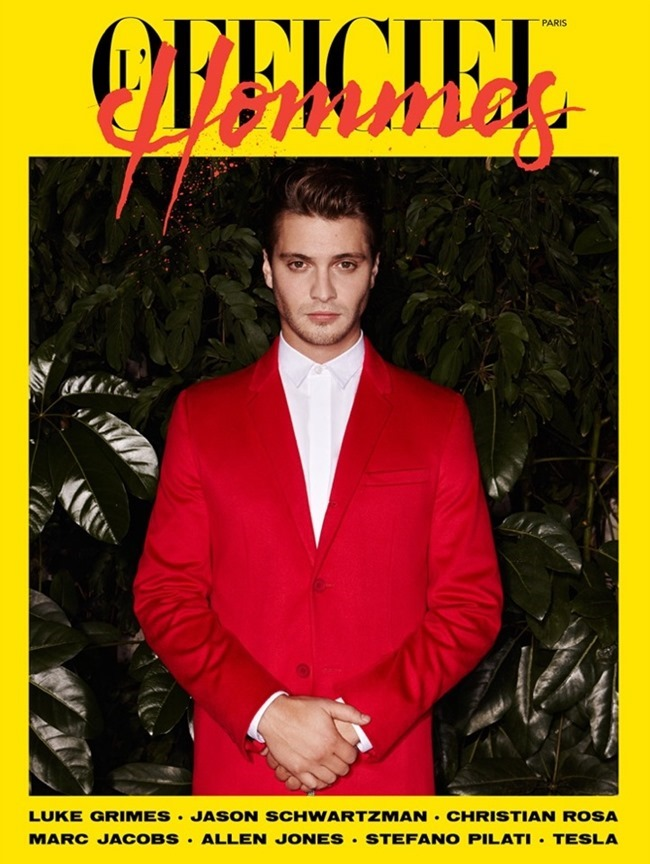 L'OFFICILE HOMMES PARIS Luke Grimes by Andrew Hail. Helena Tejedor, Spring 2015, www.imageamplified.com, Image Amplified (2)