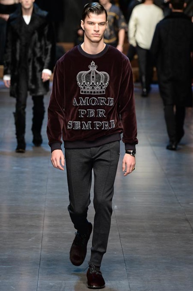 MILAN FASHION WEEK Dolce & Gabbana Fall 2015. www.imageamplified.com, Image Amplified (10)