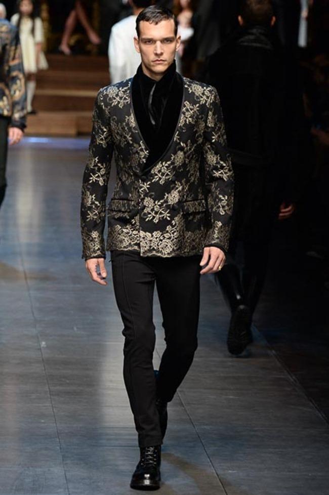 MILAN FASHION WEEK Dolce & Gabbana Fall 2015. www.imageamplified.com, Image Amplified (21)