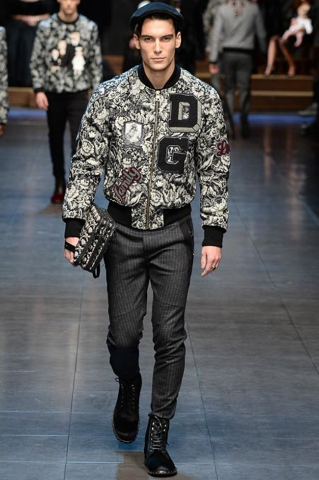 MILAN FASHION WEEK Dolce & Gabbana Fall 2015. www.imageamplified.com, Image Amplified (40)