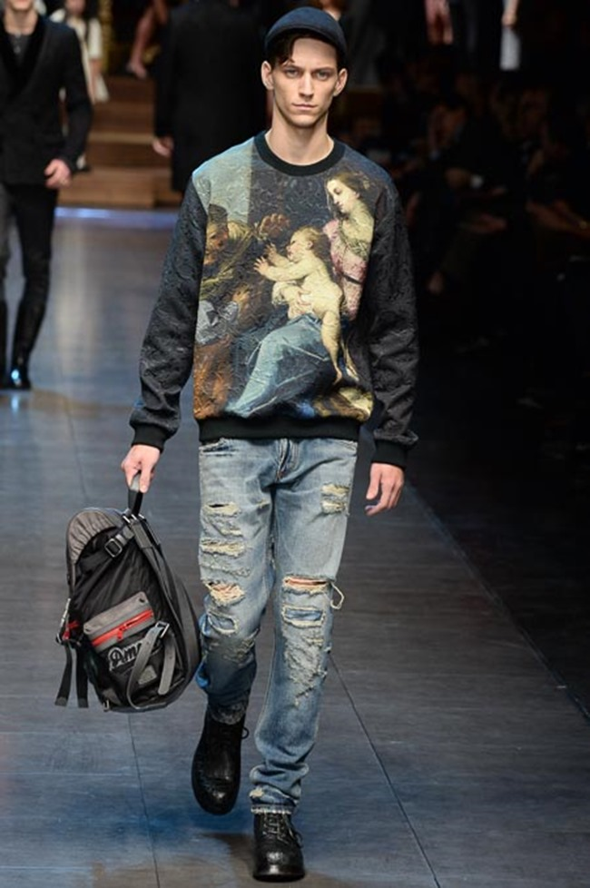 MILAN FASHION WEEK Dolce & Gabbana Fall 2015. www.imageamplified.com, Image Amplified (69)