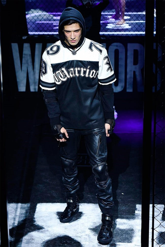 MILAN FASHION WEEK Philipp Plein Fall 2015. www.imageamplified.com, Image Amplified (2)