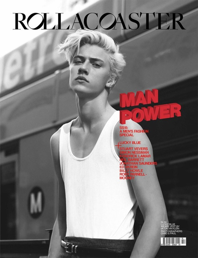 ROLLACOASTER MAGAZINE Lucky Blue Smith by Chad   Paul. Claudia De Meis, Spring 2015, www.imageamplified.com, Image Amplified (1)