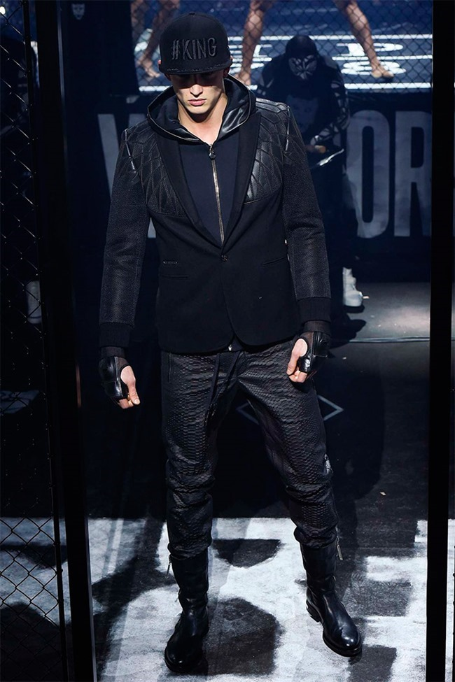 MILAN FASHION WEEK Philipp Plein Fall 2015. www.imageamplified.com, Image Amplified (25)