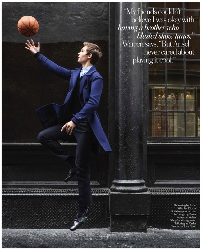 TOWN & COUNTRY Ansel Elgort by Athrur Elgort. February 2015, www.imageamplified.com, Image Amplified (1)