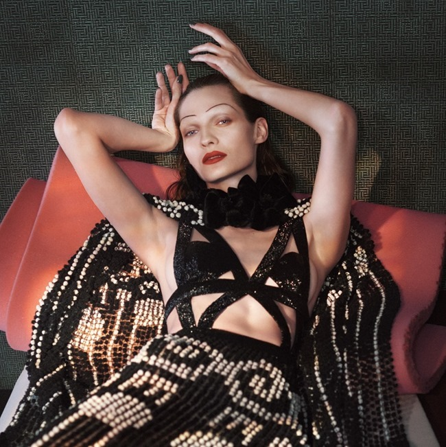 CAMPAIGN Karolin Wolter for Alexander McQueen Spring 2015 by David Sims. www.imageamplified.com, Image Amplified (2)