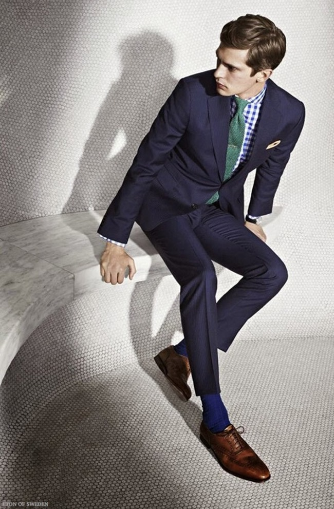 CAMPAIGN Mathias Lauridsen for Eton of Sweden Spring 2015. www.imageamplified.com, Image Amplified (1)