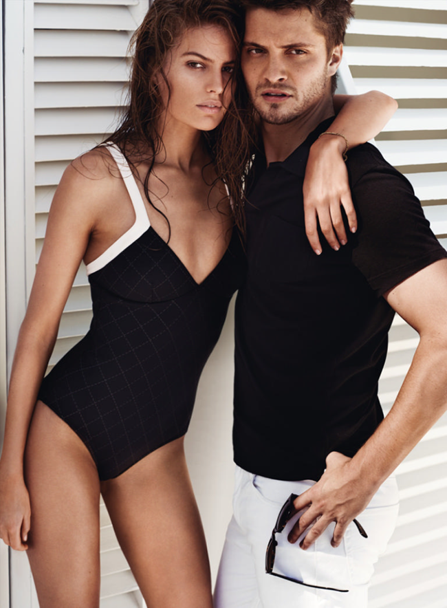 VOGUE MAGAZINE Cameron Russell & Luke Grimes by Mario Testino. Tonne Goodman, February 2015, www.imageamplified.com, Image Amplified (3)