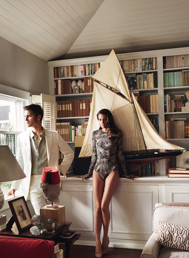 VOGUE MAGAZINE Cameron Russell & Luke Grimes by Mario Testino. Tonne Goodman, February 2015, www.imageamplified.com, Image Amplified (4)