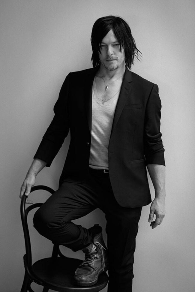 L'UOMO VOGUE Norman Reedus by Eric Guillemain. Spring 2015, www.imageamplified.com, Image Amplified (3)