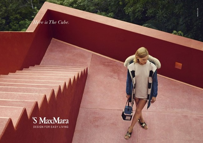 CAMPAIGN Hanne Gaby Odiele for S Max Mara Spring 2015 by Zoe Ghertner. www.imageamplified.com, Image Amplified (1)