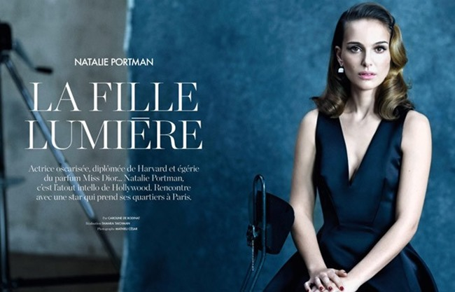 ELLE FRANCE Natalie Portman by Mathieu Cesar. Tamara Taichman, Spring 2015, www.imageamplified.com, Image Amplified (3)
