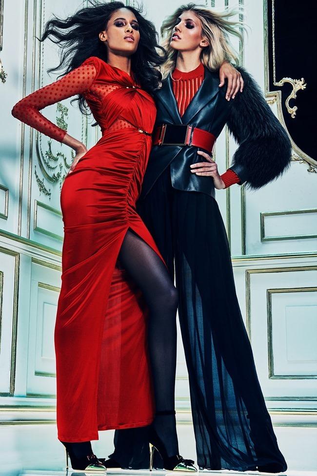 LOOKBOOK Devon Windsor & Cindy Bruna for Balmain Pre-Fall 2015. www.imageamplified.com, Image amplified (17)