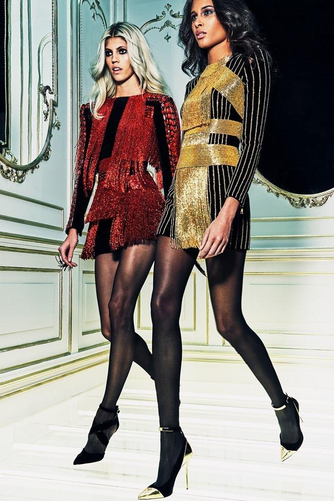 LOOKBOOK Devon Windsor & Cindy Bruna for Balmain Pre-Fall 2015. www.imageamplified.com, Image amplified (21)