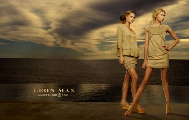 CAMPAIGN Amy Kingston & Lauren Taylor for Leon Max & Maxstudio Spring 2015 by Phillip Dixon. www.imageamplified.com, Image Amplified (3)