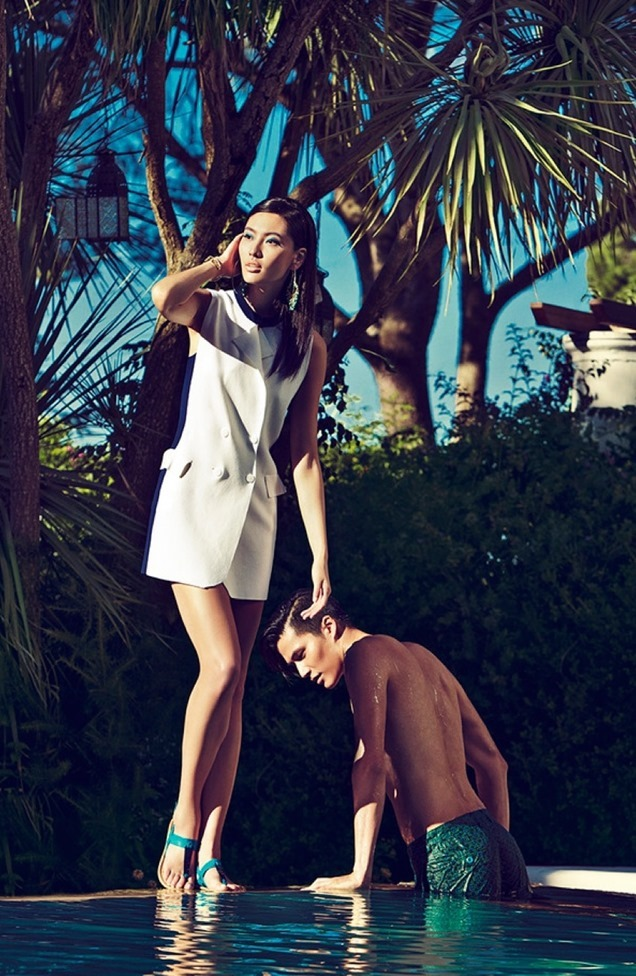 CAMPAIGN Dae Na & Bonnie Chan for Shanghai Tang Spring 2015. www.imageamplified.com, Image Amplified (9)