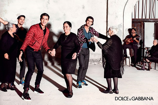 CAMPAIGN Dolce & Gabbana Spring 2015 by Domenico Dolce. www.imageamplified.com, Image Amplified (7)