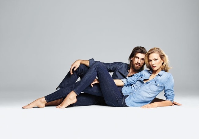 CAMPAIGN Karlie Kloss &  Henrik Fallenious for Joe Fresh Spring 2015 by Steven Sebring. George Cortina, www.imageamplified.com, Image Amplified (1)