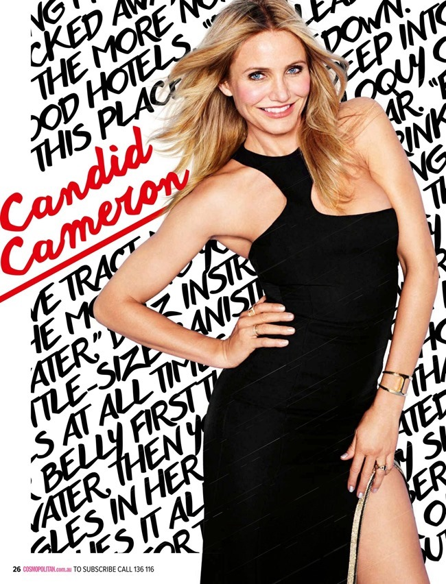 COSMOPOLITAN AUSTRALIA Cameron Diaz by Matthias Vriens-McGrath. Aya Kanai, February 2015, www.imageamplified.com, Image Amplified (4)