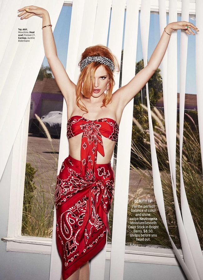 COSMOPOILTAN MAGAZINE Bella Thorne by Dan Monick. Aya Kanai, February 2015, www.imageamplified.com, Image Amplified (5)