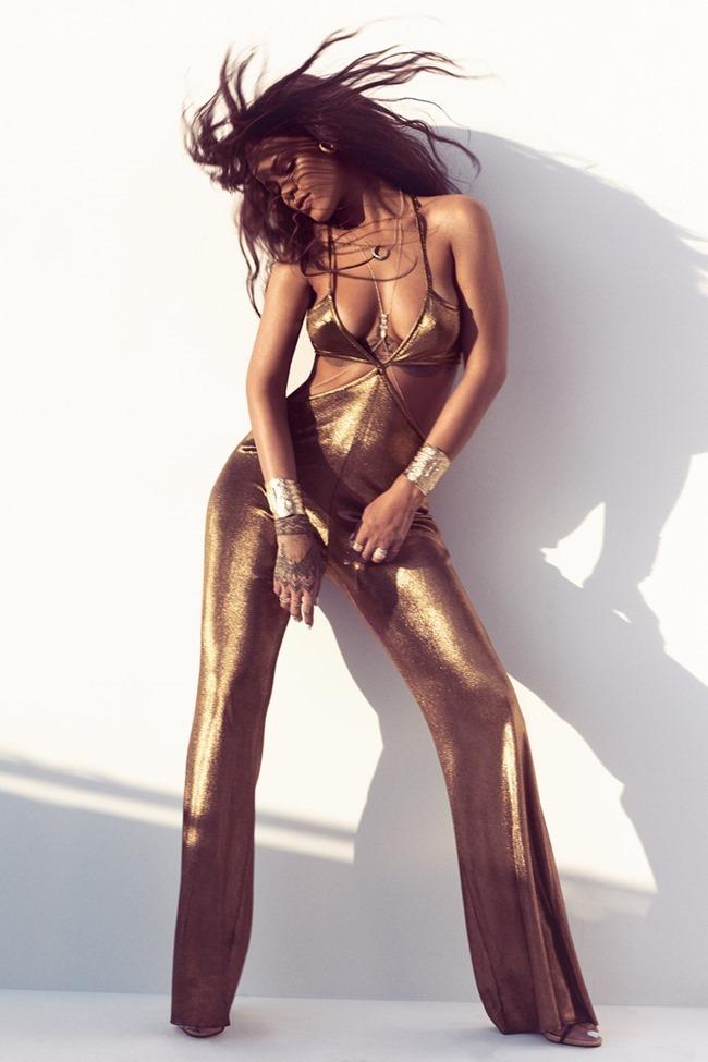 HARPER'S BAZAAR MAGAZINE Rihanna by Norman Jean roy. March 2015, www.imageamplified.com, Image Amplified (5)