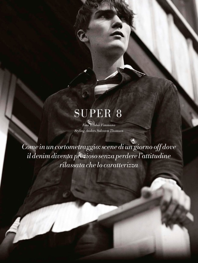 L'OFFICIEL HOMMES ITALIA Gryphone O'Shea by Robbie Fimmano. Anders Solvsten Thomsen, Spring 2015, www.imageamplified.com, Image Amplified (1)