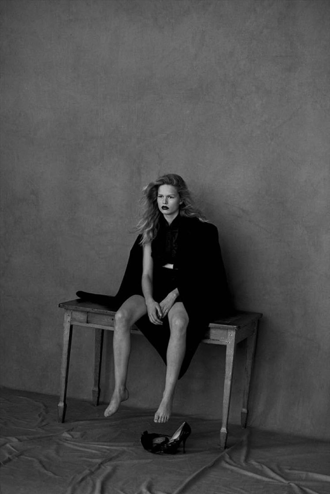 VOGUE GERMANY Anna Ewers by Peter Lindbergh. Christiane Arp, March 2015, www.imageamplified.com, Image Amplified (1)