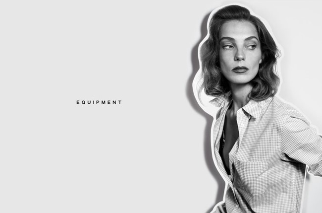 CAMPAIGN Daria Werbowy for Equipment Spring 2015 by Daria Werbowy. www.imageamplified.com, Image Amplified (9)