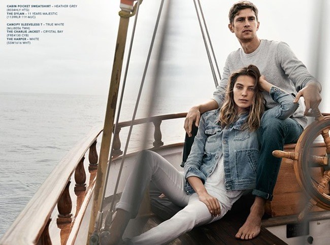 CAMPAIGN Mathias Lauridsen & Daria Werbowy for AG Jean Spring 2015 by Lachlan Bailey. Alastair McKimm, www.imageamplified.com, Image Amplified (4)