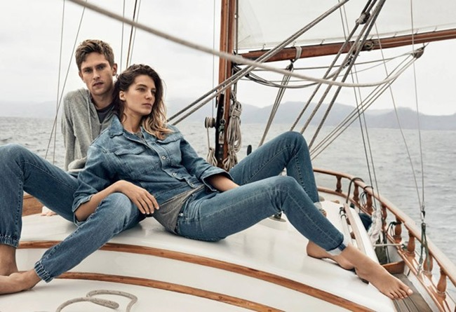 CAMPAIGN Mathias Lauridsen & Daria Werbowy for AG Jean Spring 2015 by Lachlan Bailey. Alastair McKimm, www.imageamplified.com, Image Amplified (2)