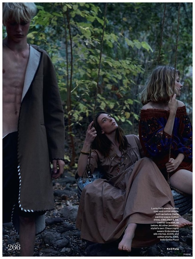 ELLE UK Darby Stephens & Chaun by Kai Z Feng. Anne-Marie Curtis, Spring 2015, www.imageamplified.com, Image Amplified (2)