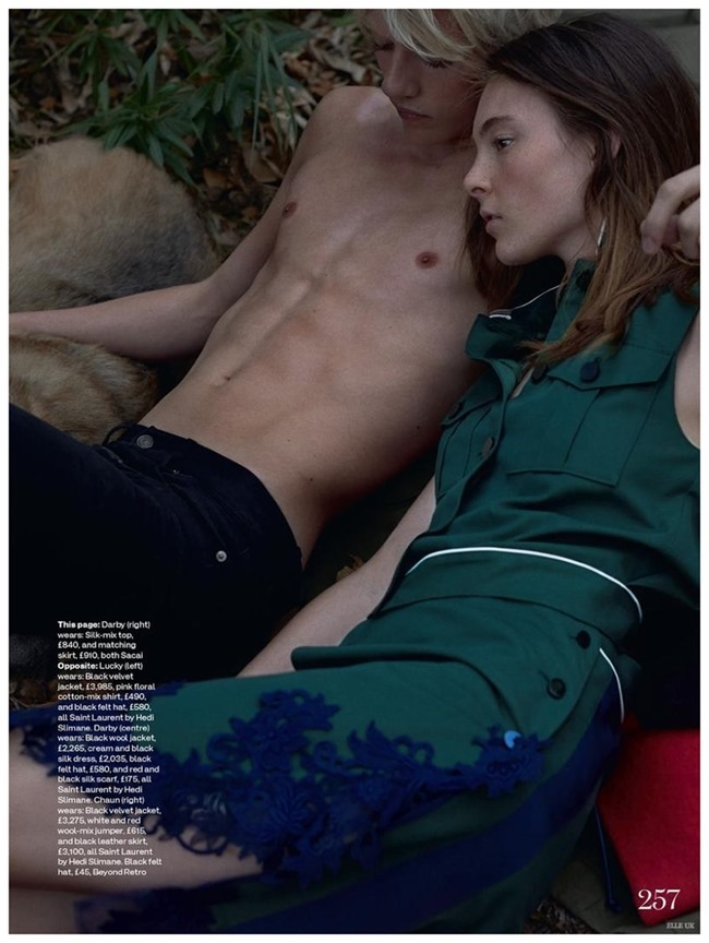 ELLE UK Darby Stephens & Chaun by Kai Z Feng. Anne-Marie Curtis, Spring 2015, www.imageamplified.com, Image Amplified (5)