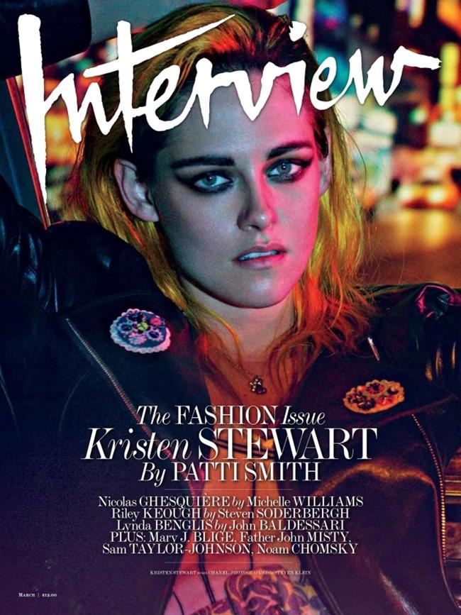 INTERVIEW MAGAZINE Kristen Stewart by Steven Klein. Karl Templer, March 2015, www.imageamplified.com, Image Amplified (3)