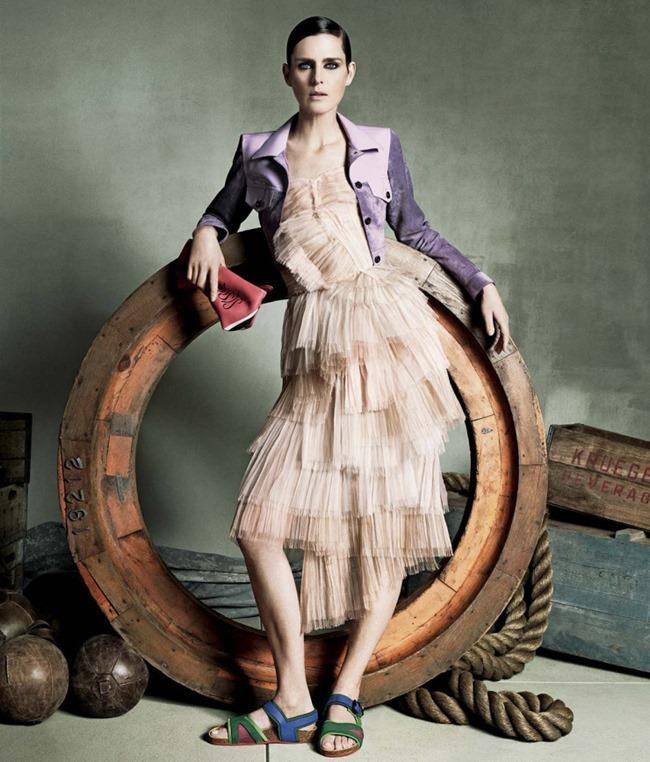 LOOKBOOK Stella Tennant for Neiman Marcus Spring 2015 by Iango & Luigi. www.imageamplified.com, Image Amplified (3)