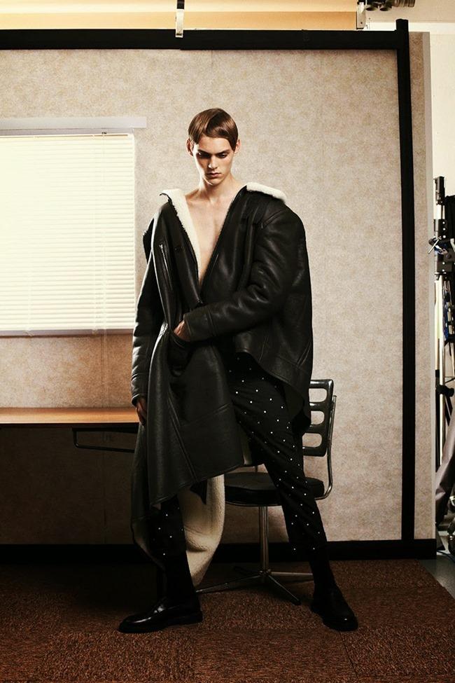 METAL MAGAZINE Mats van Snippenberg in Dior Homme by Nicola Maria Winkler, Spring 2015, www.imageamplified.com, Image Amplified (8)