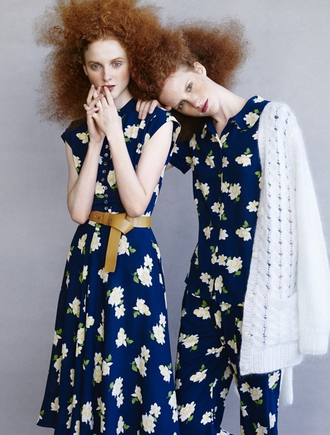 VOGUE RUSSIA Madison Stubbington & Magdalena Jasek by Victor Demarchelier. Olga Dunina, March 2015, www.imageamplified.com, Image amplified (2)