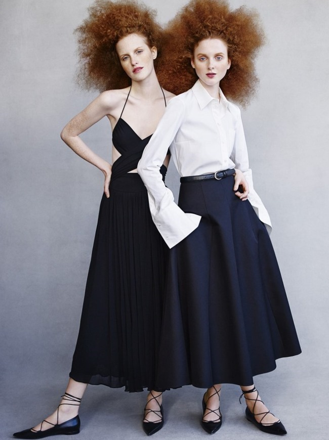 VOGUE RUSSIA Madison Stubbington & Magdalena Jasek by Victor Demarchelier. Olga Dunina, March 2015, www.imageamplified.com, Image amplified (4)