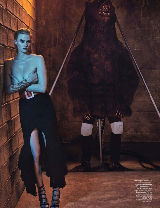 W MAGAZINE Lara Stone by Steven Klein. Edward Enninful, March 2015, www.imageamplified.com, Image Amplified (7)