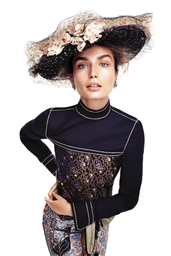 VOGUE KOREA Andreea Diaconu by Alexi Lubomirski. Ye Young Kim, February 2015, www.imageamplified.com, Image Amplified (3)