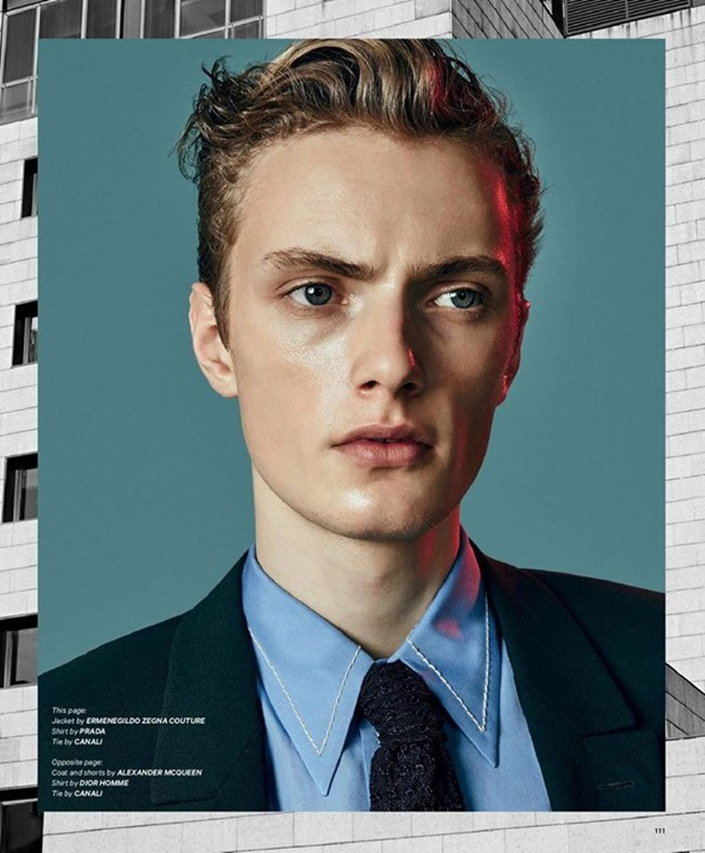 ESSENTIAL HOMME Dirk van der Graaf by Adriano Russo. Giuseppe Ceccarelli, Spring 2015, www.imageamplified.com, Image Amplified (2)