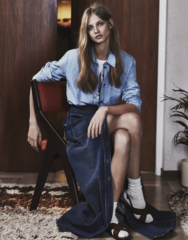 MIXTE MAGAZINE Anna Selezneva by Emma Tempest. Dimphy den Otter, Spring 2015, www.imageamplified.com, Image Amplified (2)