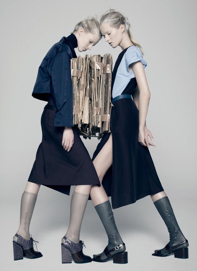 V MAGAZINE Sasha Luss & Daria Strokous by Pierre Debusschere. Tom van Dorpe, Spring 2015, www.imageamplified.com, Image Amplified (9)