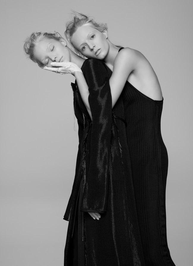 V MAGAZINE Sasha Luss & Daria Strokous by Pierre Debusschere. Tom van Dorpe, Spring 2015, www.imageamplified.com, Image Amplified (10)