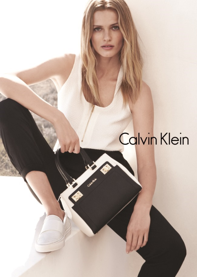 CAMPAIGN Edita Vilkeviciute & Tyson Ballou for Calvin Klein White Label Spring 2015 by Daniel Jackson. Tony Irvine, www.imageamplified.com, Image Amplified (5)