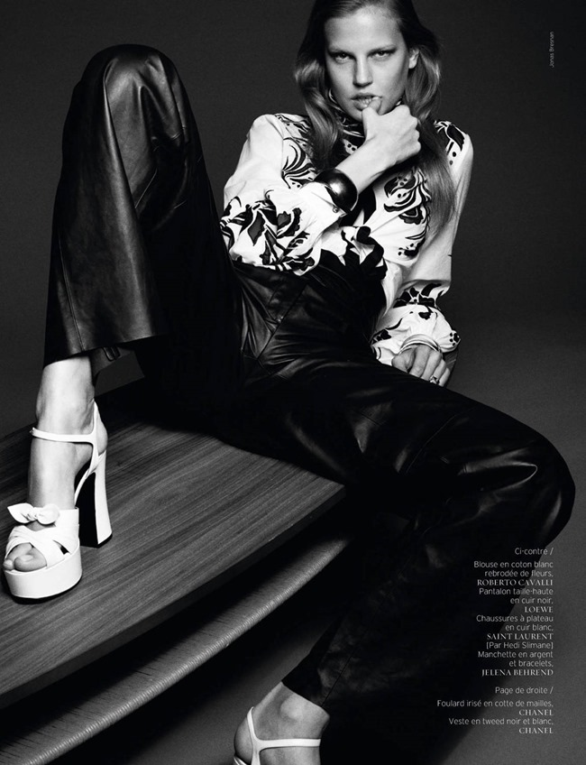 FRENCH REVUE DE MODES Elisabeth Erm by Jonas Bresnan. Marcell Rocha, Spring 2015, www.imageamplified.com, Image Amplified (7)
