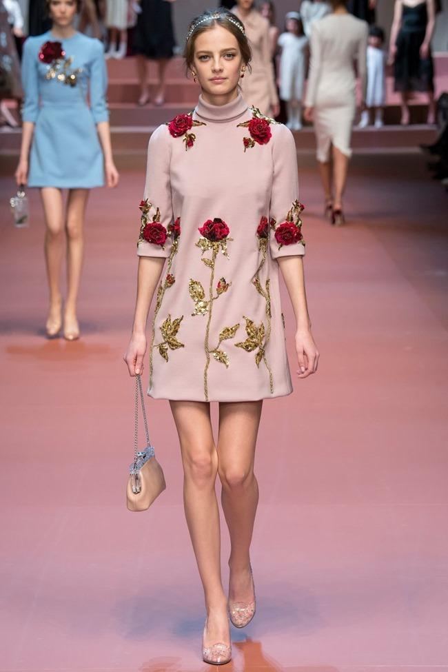 MILAN FASHION WEEK Dolce & Gabbana Fall 2015. www.imageamplified.com, Image Amplified (4)