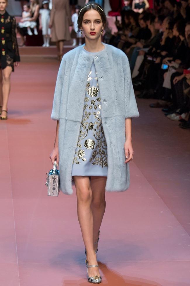 MILAN FASHION WEEK Dolce & Gabbana Fall 2015. www.imageamplified.com, Image Amplified (9)